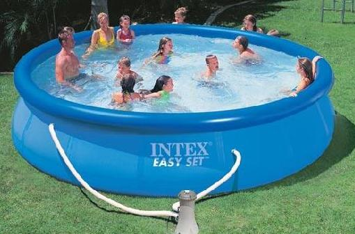 Piscine 28160 piscina intex easy cm 457x91h con pompa for Intex piscine catalogo