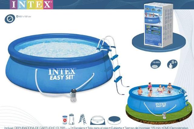 Piscine 28176 piscina intex easy cm 549x122h con pompa for Intex piscine catalogo