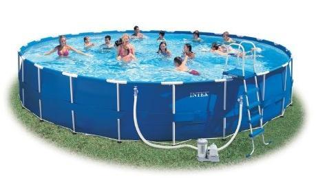Piscine 28252 piscina intex frame cm 549x122h con pompa for Vendita piscine intex