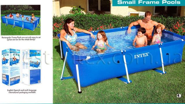Piscine 28270 piscina intex rettangolare cm 220x150x60h for Intex piscine catalogo