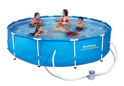 Piscine piscina bestway tonda cm 366x81 cm con filtro a for Bestway piscine catalogo